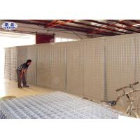 China River Flood Protect Hesco Type Barriers Mil1 Welded Cages For Sand / Earth / Cement wholesale
