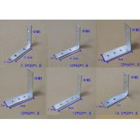 China Zinc Plated Corner Fixing Set Iron For Vertical Top Profiles And Drawer Profiles Jointed Truss Bracket wholesale