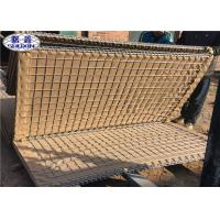 China Sand Filled Gabion Flood Barriers With Geotextile Galvanized Steel Wire wholesale