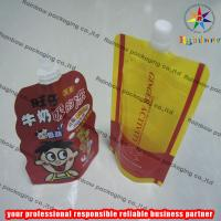 China Strong Freeze Resistance Spout Pouch Packaging For Liquid wholesale