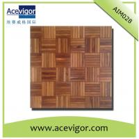 China Solid wood mosaic wall tiles with beautiful pattern for wall decoration wholesale
