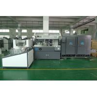 China PET / PP / PE Plastic  Container Automatic Silke Screen Printing Machine 4000pcs / hr With IR Dryer wholesale
