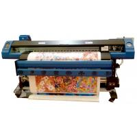 China 3.2M DX7 Large Format Double Sided Eco Solvent Flex Banner Printer wholesale