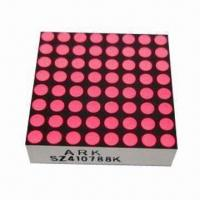 Buy cheap 8 x 8 Dot-matrix LED Display, Used for Elevator Floor Indicators, Available in from wholesalers