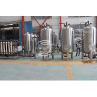 China Complete ultra filtration Mineral Drinking Water  making machine on sale