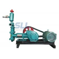 China 20 Bar Single Cylinder Piston Cement Grouting Pump For Building Construction wholesale