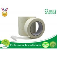 China Low Adhesive White Colored Masking Tape 3M Length Single Side wholesale