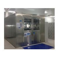 China Customizable Speed Adjustable SUS201 Cleanroom Air Shower wholesale