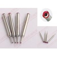 China Auto Coil Winding Machine Wire Guide Ruby Nozzle Stainless Steel With Winding Needles on sale