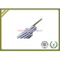 China Optical Ground Wire OPGW Outdoor Fiber Optic Cable , Multi Core Fiber Optic Cable wholesale