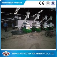 Buy cheap Six Generation 2-3 Tons Per Hour Biomass Pellet Production Line from wholesalers