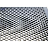 China 1mm Hole Galvanized Perforated Metal Mesh Decoration Screen Door Mesh on sale
