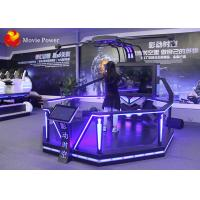 China 360 Degree Blue Lights Immersive 9D Vr Htc Vive Standing Interactive Shooting Game wholesale