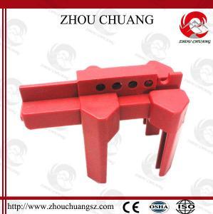 China Plastic 2-8 Red Adjustable Ball Valve Lockout Best Price Valve Lock on sale