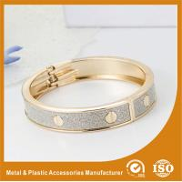 China Solid Brass 18K Gold Cuff Bangle Bracelets Fashion Jewelry Bangles wholesale