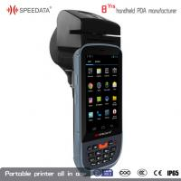 China Mobile Handheld PDA Thermal Printer With Wifi Bluetooth GPRS GPS for Railway ticket wholesale