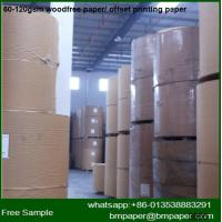 China offset paper for A4 offset paper in roll for sell wholesale