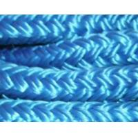Quality blue double braidced polyester nylon mooring rope for sale