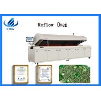 China New Lead Free Reflow Machine Reflow Oven Siemens Control System With Clear LED Display on sale