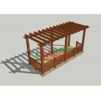 China Veranda Home Depot Pergola 7m * 2.5m * 2.85m , Durable Free Standing Pergola Kits wholesale