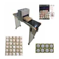 China Convenient Transportation Egg Batch Number Printing Machine For Green Food Logo wholesale