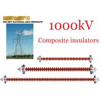 China 1000kV AC Overhead Line Insulators , Suspension Type Composite Polymer Insulator wholesale