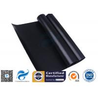 China Black 0.008 Non Stick Silicone Baking Mat Food Grade PTFE  For BBQ Grill Mat / Oven Liner on sale