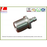 Computer Numerical Control Stainless steel machining nuts with nature color