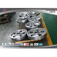 China AS4140 Rail Wheel Ring Rolling Forging Rough Machined Forged Shaft wholesale