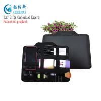 China Neoprene Grid It Gadget Organizer , Waterproof Electronics Organizer For Travel wholesale