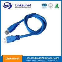 China Blue USB 2.0 - A Plug Soldering Injector Wiring Harness Customized UL94 - V0 Pin 4 wholesale