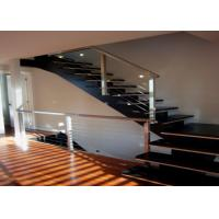 China Indoor Stainless Steel Railing With Powder Coating / Spray Paint Surface Treatment wholesale
