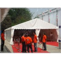 China White Fabric Cover Aluminium Frame Marquee Temporary Outdoor