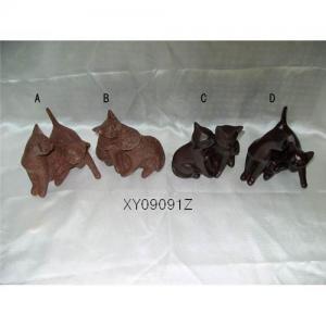 China Resin craft vivid cat wholesale