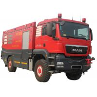 China Fast Moving  Fire Fighting Trucks Used in Airport with Fire pump wholesale