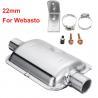 Buy cheap 22mm Silencer Muffler Exhaust Pipe For Webasto Diesel Truck Heater from wholesalers