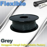 China Rapid Prototyping 1.75 / 3.00mm Flexible 3d Printer Filament  0.8KG / Roll wholesale