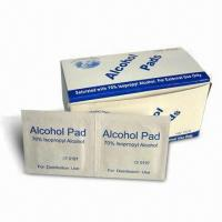 China Alcohol Pad, Available in Various Sizes wholesale