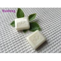 China Competitive Price Square Hotel soap sachet body hair removing soap wholesale