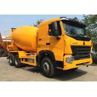 China SINOTRUK HOWO A7 6x4 9m3 Concrete Construction Equipment With 59% Stuffing Volume wholesale