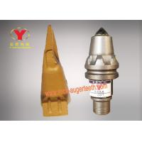 China High End Steel Body Auger Bit Teeth Abrasion Proof For Drilling Bits Machine on sale