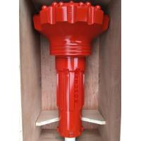 China 115mm Mission 40 Well Drilling Dth Hammer Button Bits With Red Color Surface wholesale