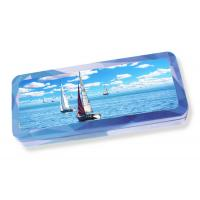 Quality Custom Plastic 3d Lenticular Pencil Case Printing Service For School Stationery for sale