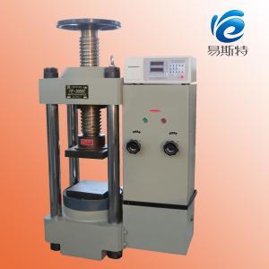 China YE-2000C digital display compression testing machine wholesale