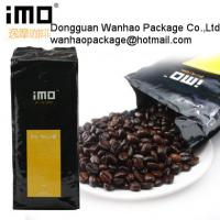 China Polythene Coffee Bean Packaging Bags wholesale