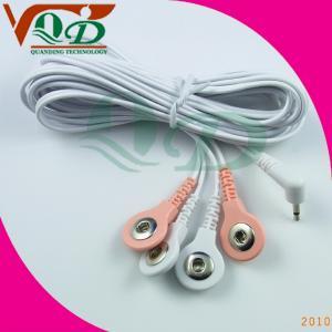 China PVC Copper foil silk Tens Unit Lead Wires 1.8mm-3.6mm diameter, 1.5m or 2.0m length wholesale