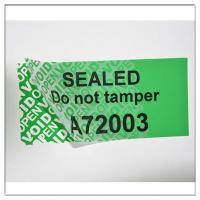 China Anti-Tamper PET Security Warranty VOID Stickers,Custom Made VOIDTamper  Evident Hologram Sticker on sale