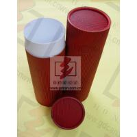 China Red Food Cardboard Tubing Packaging Biodegradable With Goods In Stock wholesale