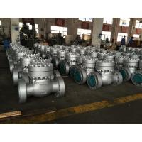 China 1500 LB Swing 6 Inch Check Valve BB C12A BODY TRIM NO.5 For Industrial on sale