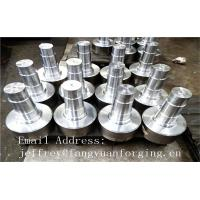 China 17CrNiMo6 31CrMOV9 Alloy Steel Forged Shaft  Heat Treatment And Machined wholesale